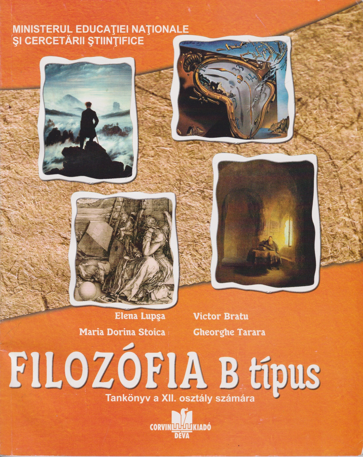 Filosofie tip B - Manual pentru clasa a XII-a
