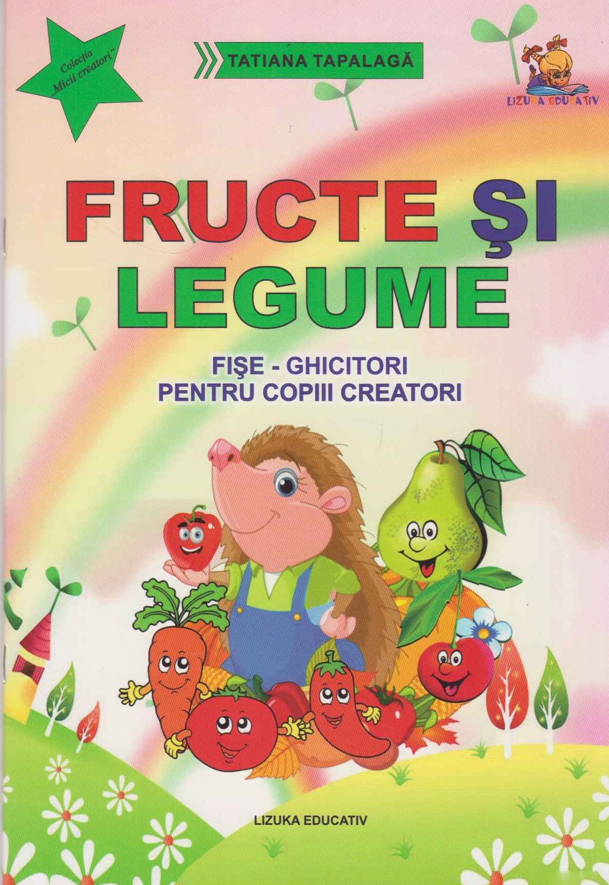 Fructe legume Fise ghicitori pentru