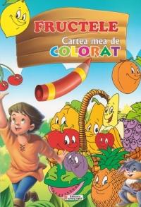 Fructele Cartea mea colorat (format