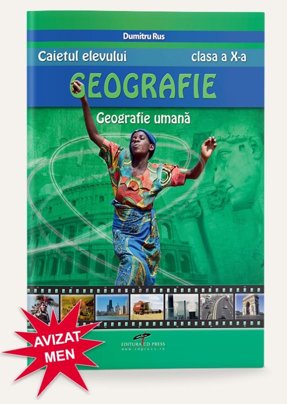 Geografie umana clasa a X-a caietul elevului