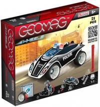 Geomag Wheels Police Fastcar (21