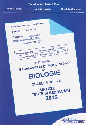 Ghid pentru bacalaureat 2012 nota