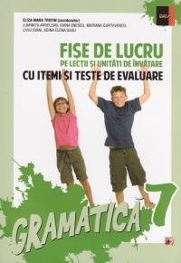 Gramatica Clasa a VII-a - Fise de lucru pe lectii si unitati de invatare cu itemi si teste de evaluare (Editia a XI-a revazuta si adaugita - editia 2014)