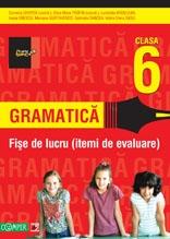 GRAMATICA. FISE DE LUCRU PENTRU CLASA A VI-A (ITEMI DE EVALUARE)