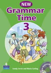 Grammar Time 3 Student Book Pack New Edition (with Multi-ROM)