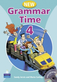 Grammar Time 4 Student Book Pack New Edition (with CD-ROM)