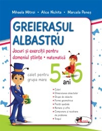Greierasul Albastru jocuri exercitii pentru