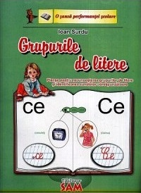 Grupuri litere set complet planse