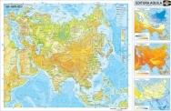 Harta Asia - duo 70x100 cm