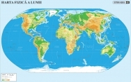 Harta Lumii - duo 70x100 cm