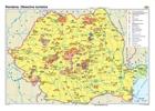 Harta Romania.Obiective turistice
