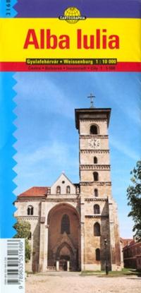 Harta rutiera Alba Iulia