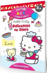 Hello Kitty Delicatese litere Jocuri