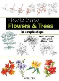 How Draw Flowers and Trees