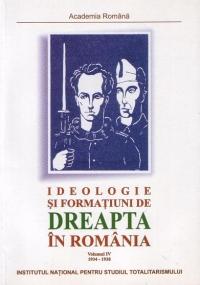 Ideologie formatiuni dreapta Romania 1934