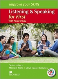 Improve Your Skills: Listening and Speaking for First Students Book with Key and MPO Pack