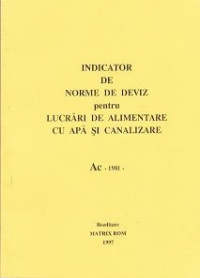 INDICATOR NORME DEVIZ (1981) Alimentari