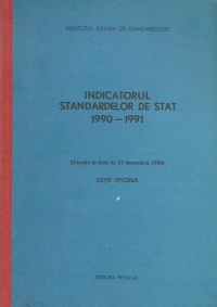 Indicatorul standardelor stat 1990 1991