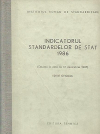 Indicatorul standardelor stat 1986 (Situatia