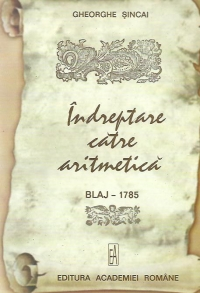 Indreptare catre aritmetica Blaj 1785