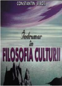 Indrumar filosofia culturii