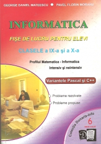 Informatica Fise lucru pentru elevi