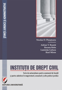 Institutii drept civil Teste autoevaluare