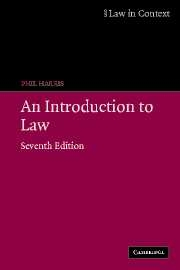 An Introduction to Law (7th Edition)