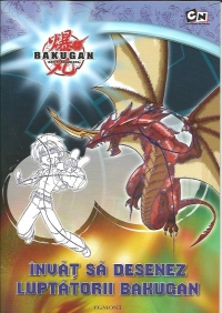 Invat desenez luptatorii Bakugan