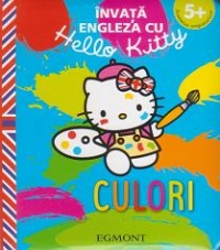 Invata engleza Hello Kitty Culori