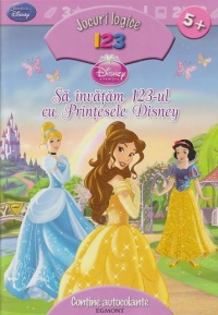 invatam 123 Printesele Disney