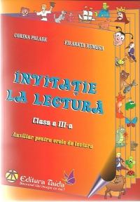 Invitatie lectura Clasa III Auxiliar