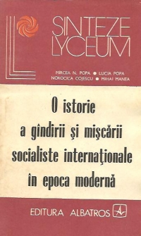 istorie gindirii miscarii socialiste internationale