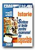 ISTORIE SINTEZE TESTE PENTRU EXAMENUL