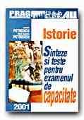ISTORIE SINTEZE TESTE PENTRU EXAMENUL