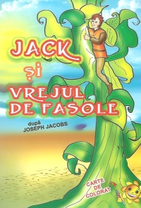 Jack vrejul fasole Carte colorat