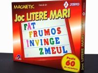 Joc magnetic Litere mari