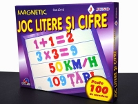 Joc magnetic Litere Cifre