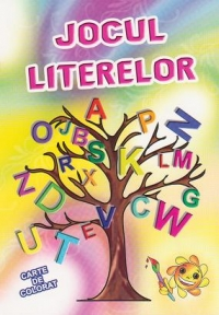 Jocul literelor Carte colorat invatat