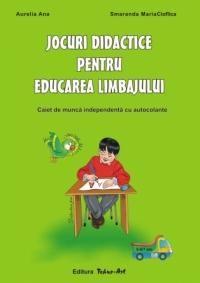 Jocuri didactice - caiet de munca independenta pentru educarea limbajului (grupa mare pregatitoare, editia a VIII-a revizuita si adaugita)