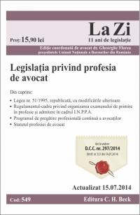 Legislatia privind profesia avocat Cod