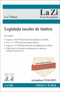 Legislatia taxelor timbru Cod 506