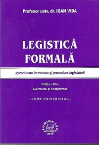 Legistica formala (Introducere tehnica procedura