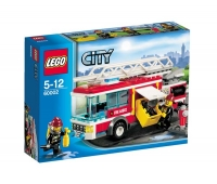 LEGO CITY FIRE CAMION POMPIERI