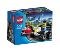LEGO CITY FIRE ATV POLITIE