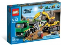 LEGO CITY TRANSPORT EXCAVATOR