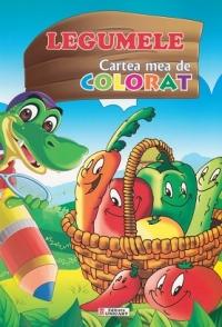 Legumele Cartea mea colorat (format