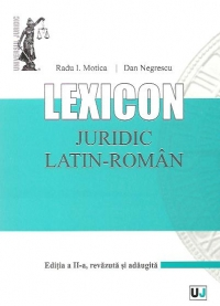 Lexicon juridic latin roman Editia