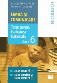 Limba si comunicare. Modele de teste pentru Evaluarea Nationala clasa a VI-a - Limba engleza L1. Limba romana si limba engleza L1