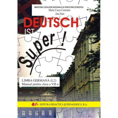 Limba germana Manual pentru clasa